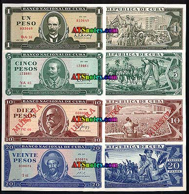 Cuba Banknotes Paper Money Catalog And Cuban Currency