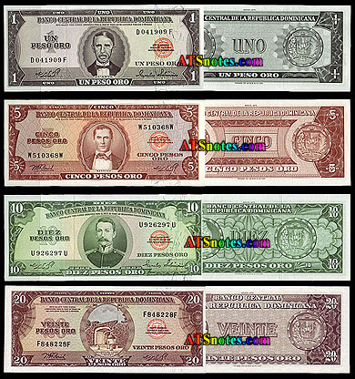 Dominican Republic Banknotes Paper Money Catalog And Currency History