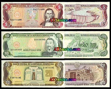 Dominican Republic Paper Money