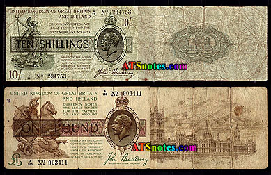 10 Shillings 1 Pound