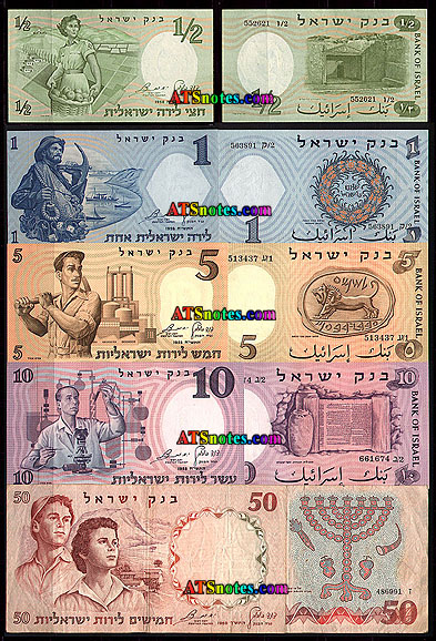 Israel Banknotes Paper Money Catalog And Israeli Currency History