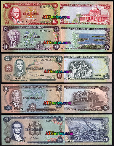 Jamaica Banknotes Paper Money Catalog And Jamaican Currency History