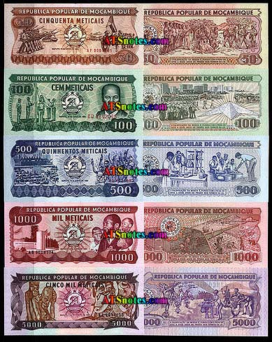 Mozambique Banknotes Paper Money Catalog And Currency History