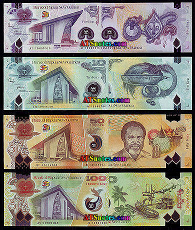Papua New Guinea Banknotes Paper Money Catalog And