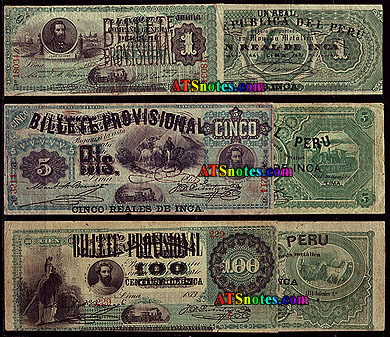 Peru Paper Money Catalog And Peruvian Currency History