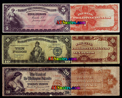 Philippines banknotes - Philippines paper money catalog and