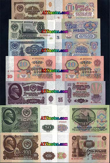 Russia Banknotes Paper Money Catalog And Russian Currency History