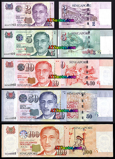 Singapore Picture on Singapore Banknotes   Singapore Paper Money Catalog And Singaporean