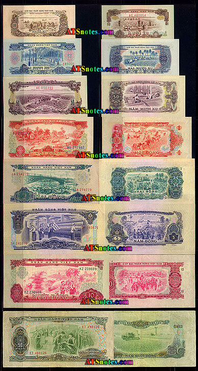 Vietnam South Banknotes Paper Money Catalog And Vietnamese Currency History
