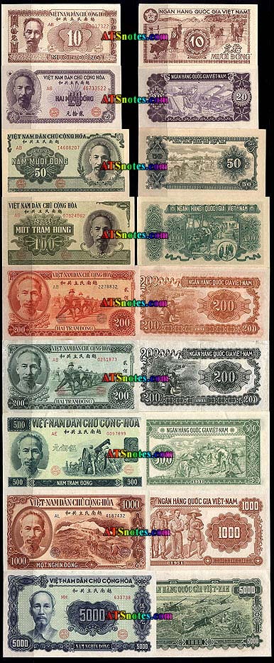 Vietnam Banknotes Paper Money Catalog And Vietnamese Currency History