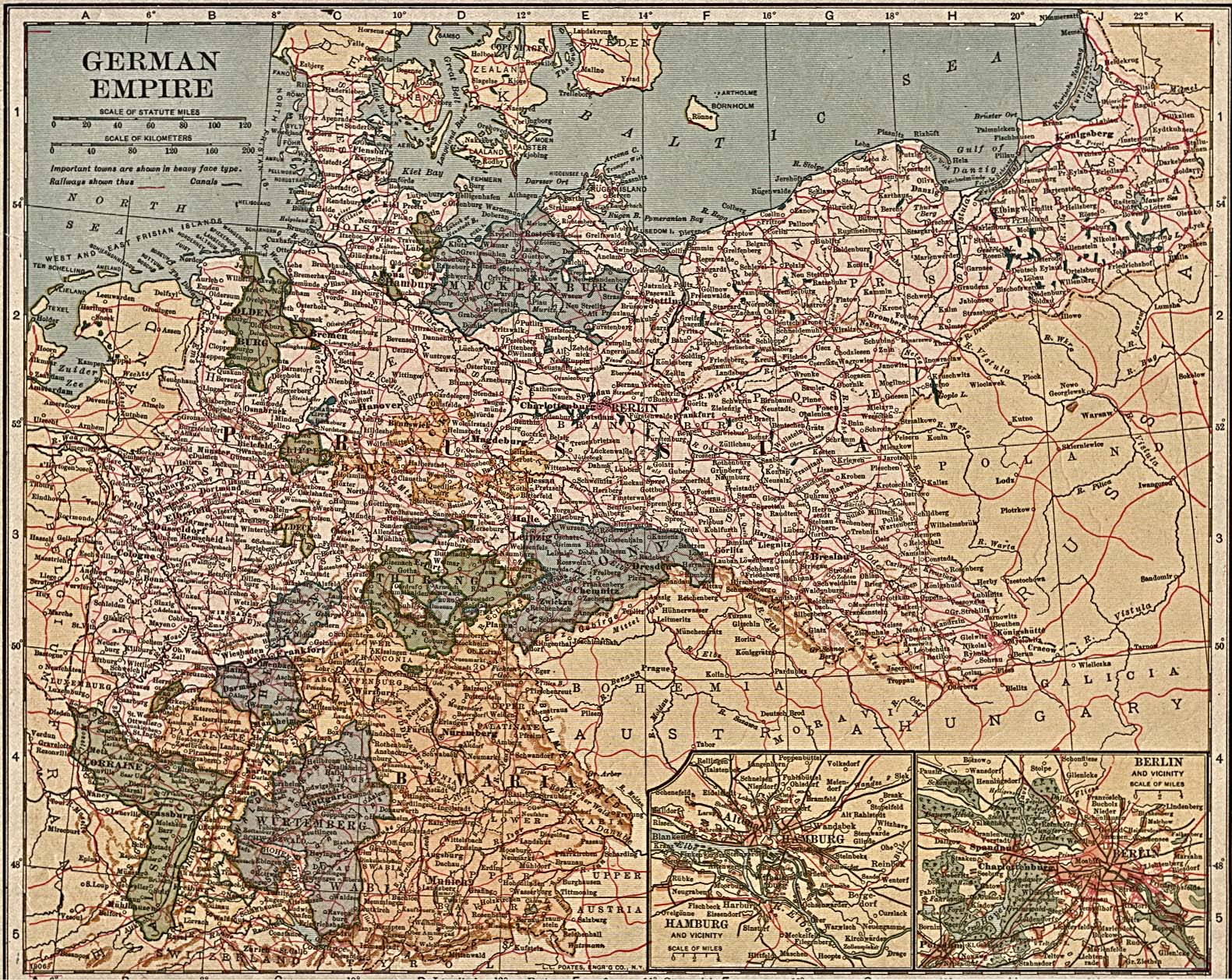 Map Of Germany 1870.Index Of German Polish And Polish German Names Of The Localities In