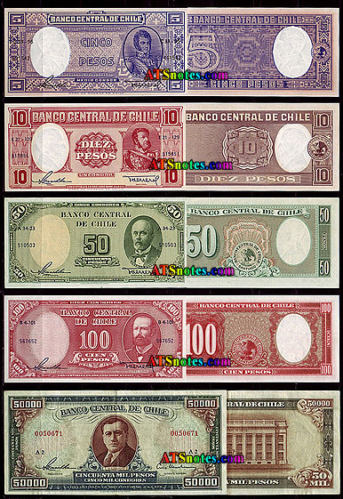 Chile Paper Money Catalog And Chilean