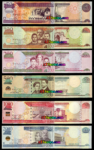 Dominican Republic Paper Money